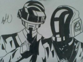Daft punk by Seigman-Alice