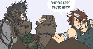 iScribble - Wanna ArmWRASTLE?? by eXed-OUT