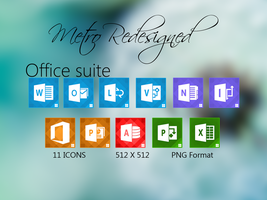 Metro Redesigned Office Suite by Faisalharoon