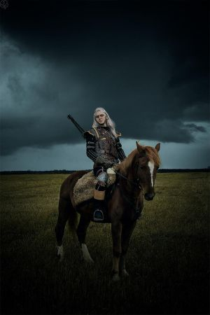The Witcher 2 cosplay - Geralt of Rivia_ by GreatQueenLina
