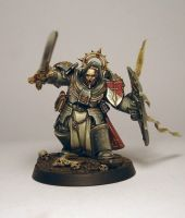 Grey Knights Grand Master Kaldor Draigo by kadiel1