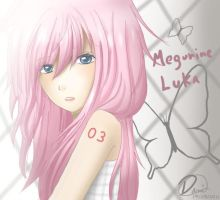 Megurine Luka by Daninha-LOL