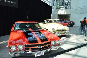 A Row Of Classic Cars by Brooklyn47