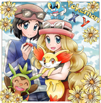 Pokemon XY by chikorita85