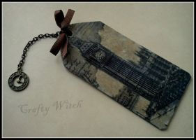 British bookmark by amenneris