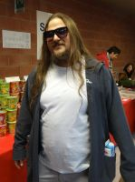 Jeffrey The Dude Lebowski - Cos-Mo 2014 by Groucho91