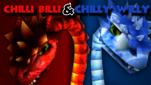 Chilli Billi and Chilly Willy Wallpaper by GwreanReepah