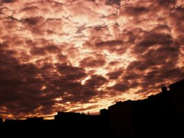 Sunset Over Berlin 84 by ErinM2000