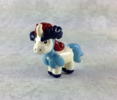 Mini Keldeo Sculpture by LeiliaClay