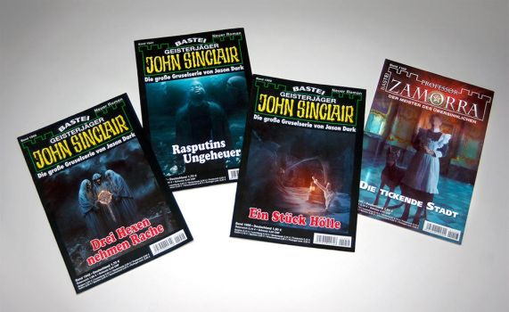 John Sinclair / Dr. Zamorra covers by neverdying