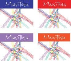 Wine Label Design ManoTinta by chkimbrough