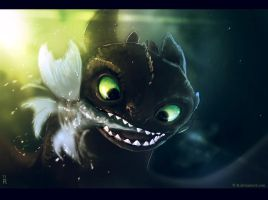 Toothless2 by Ti-R