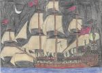 Gift: Galleon With High Stern by Edward-Smee