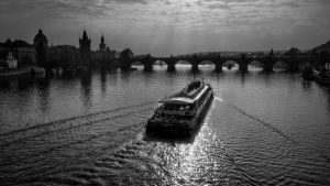 Evening atmosphere in Prague by pingallery