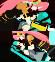 MMD: Luka x Miku by Free-Beloved-Army