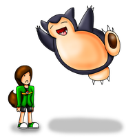 Snorlax Suddenly Hugged You. by HamSamwich