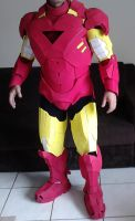 Iron Man Mark VI cosplay front - WIP by Regis-AND