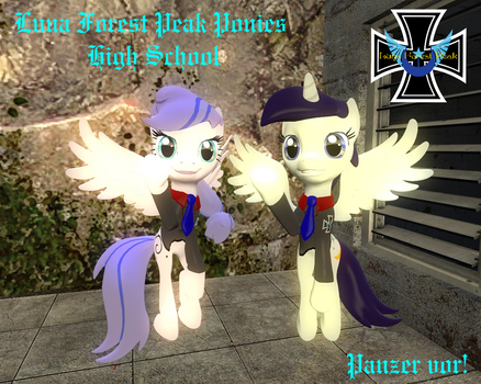 [DL]Luna Forest Peak Ponies High School by Lt-CitrusReuben