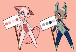 Anthro Adoptables: 20 Points by Sports3388
