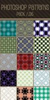 Photoshop Patterns - Pack 06 by punksafetypin