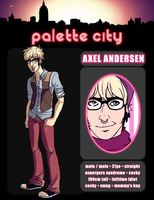Palette City resident: Axel by PrinceYapi