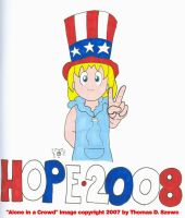 Vote Hope in 2008 by Tabris-The-17th