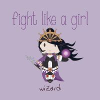 Wizard - Fight Like A Girl by isasaldanha