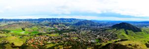 San Luis Obispo Tilt-Shifted by mightystag