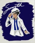 Smooth Criminal in Blue by panda21595
