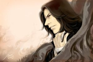 Severus Snape in by woshibbdou