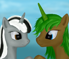 Dicey and Equie. Friendship forever. by mindlesshead