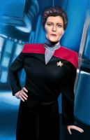 Star Trek Series - 1 - Janeway by Cabbages