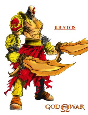 Kratos:God of War