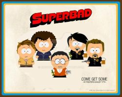 Superbad wallpaper south park by dingoboy20