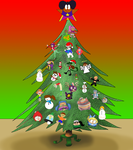 The Xmas Tree Decoration Collab by JuacoProductionsArts