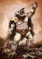 Beserker Orc by timmolloy