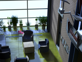 3D Interior Comp. Sci. Bldg. by ams719