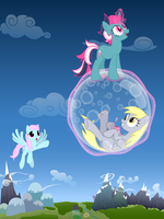 Beyond the Bubbly Blue Yonder by issmafia