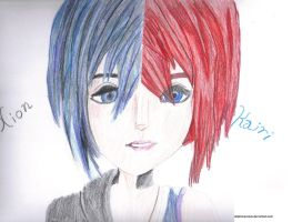 Xion - Kairi by dolphinesrock