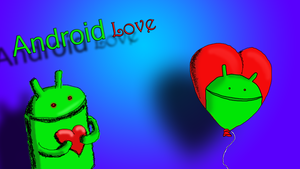 Android love by GhostOfPardition