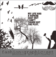 Fashion-Graphic-Brushes by Butterphil