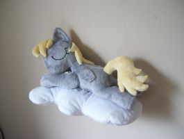 SOLD! Sleepy Filly Derpy by PlushieScraleos