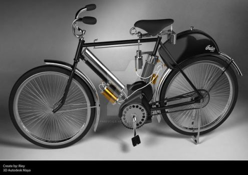 old bicycle by freestyle-art