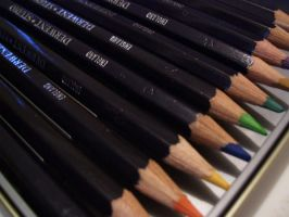 Derwent pencils by matalic-butterfly