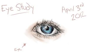 Eye Study by Horsegirl558