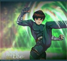Rock Lee Lotus Style by Naarouto