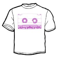 the tape shirt front by BenTara