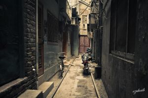 Mystic Alleys of Lahore Walled City by ezuhaib