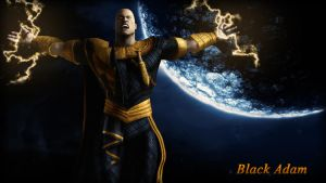 Black Adam (Regime) Wallpaper by BatmanInc