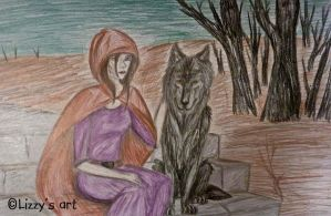 Red Riding Hood by Lizbeth-Lund